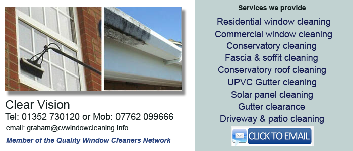 Window cleaning service Chester