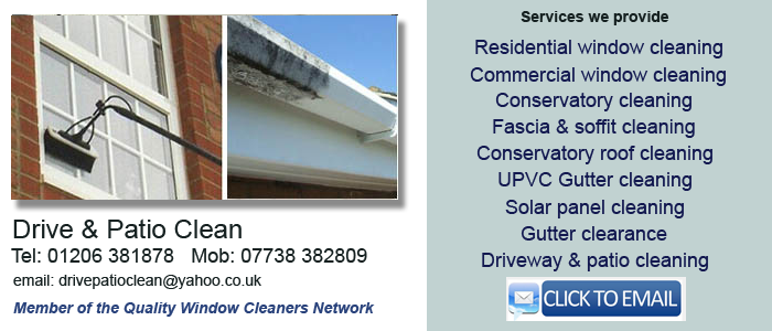 Colchester window cleaners