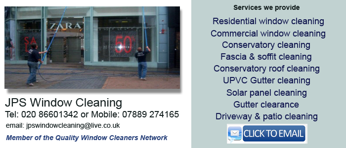 Window cleaners Croydon