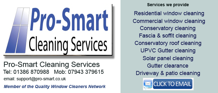 Evesham window cleaners