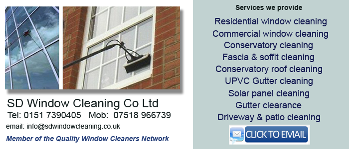 Mitcham window cleaning services