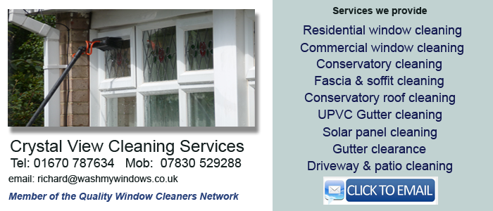 Morpeth window cleaning service