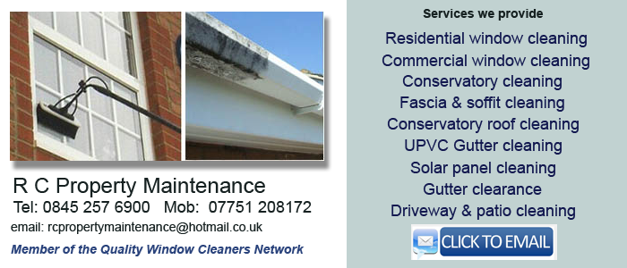 Northampton window cleaning