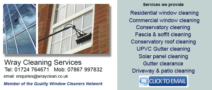 Scunthorpe window cleaning services