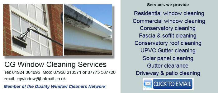 Wakefield window cleaning