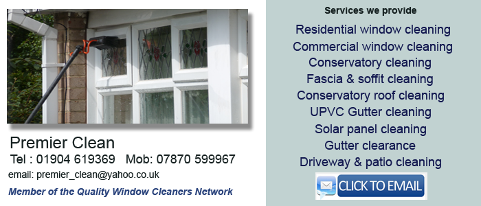 York window cleaning services