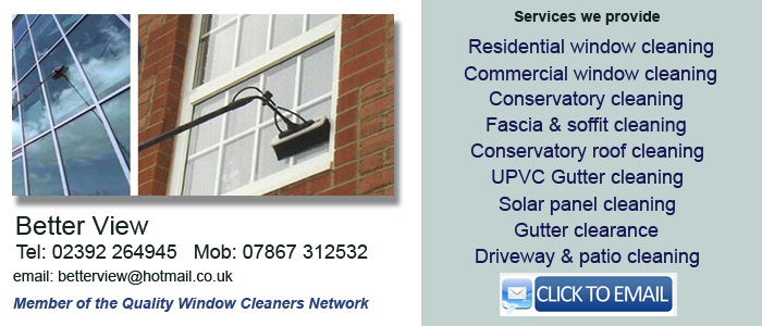 Portsmouth window cleaning services