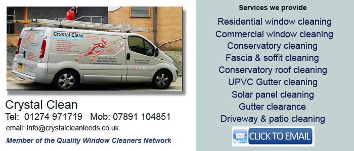 Window cleaner Bradford