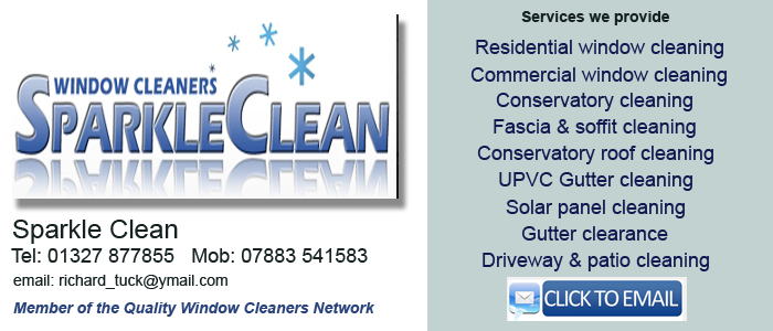 Window cleaners in Daventry