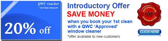 Window cleaning discount voucher