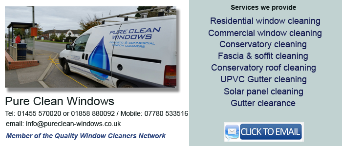 Market harborough window cleaning services