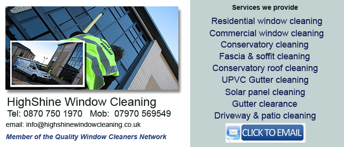 Leicester window cleaning service