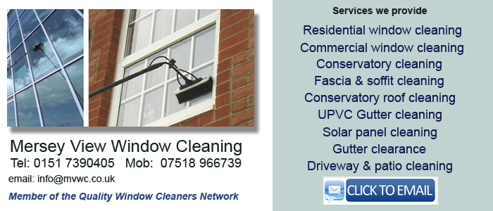 Liverpool window cleaning services