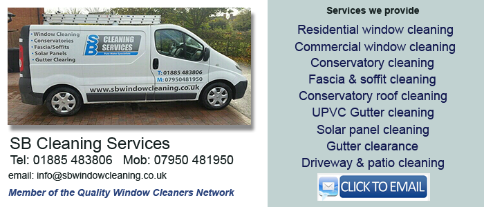 Worcester window cleaning service