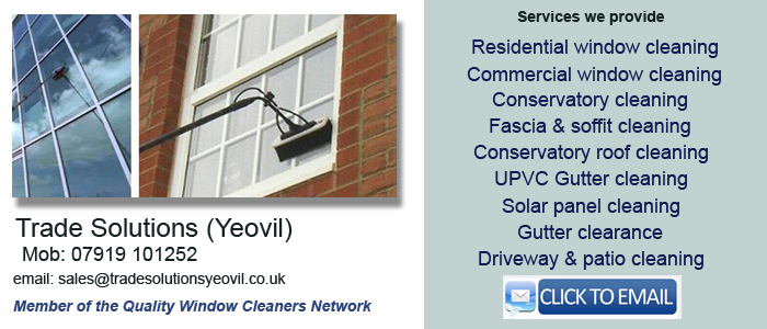 Yeovil window cleaning services