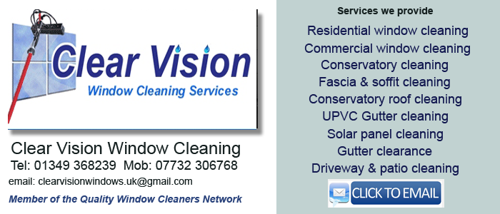 Inverness window cleaning service
