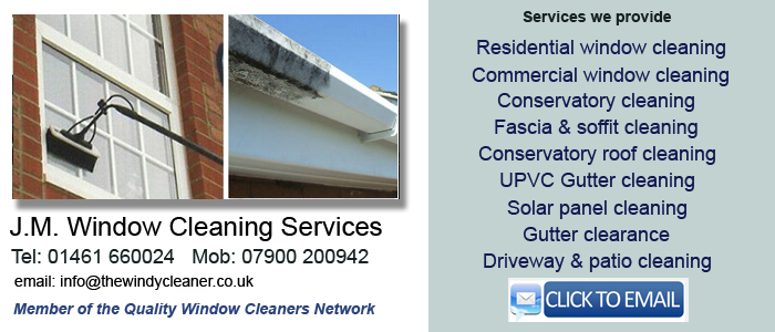 Annan window cleaning services