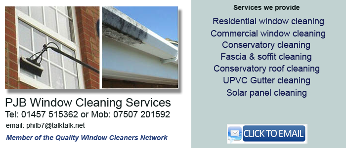 Window cleaner Glossop