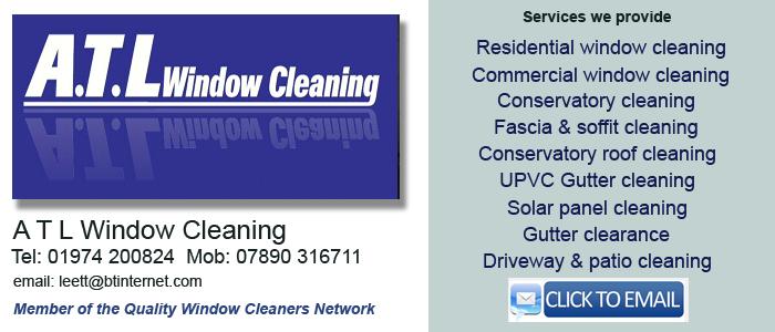 Window cleaners Aberystwyth