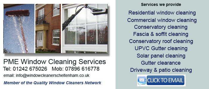 Cheltenham window cleaners