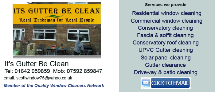 Hemlington window cleaning service