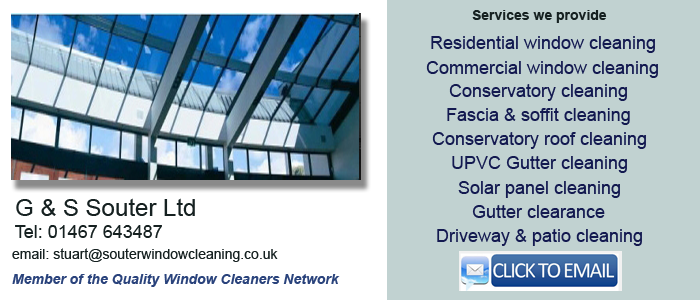 Kemnay window cleaning services