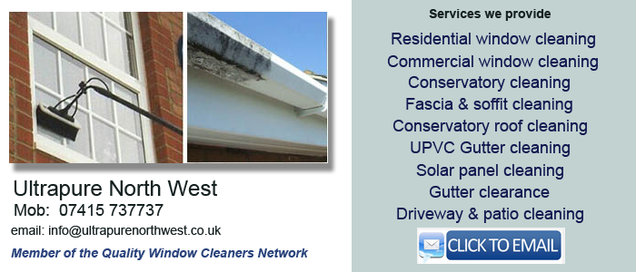 Leigh window cleaning services