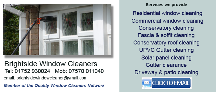Saltash window cleaning services