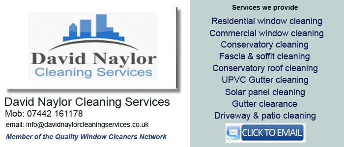 Window cleaner Billingham