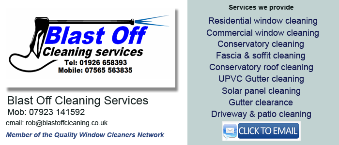 Leamington Spa window cleaning
