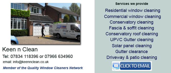 Solihull window cleaning services