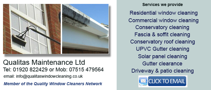 Window cleaner Hertford