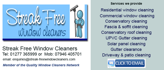 Chelmsford window cleaners