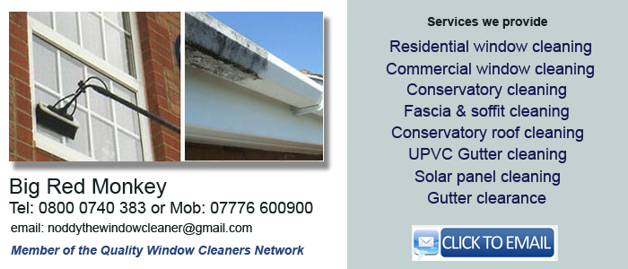 Window cleaner Frinton on Sea