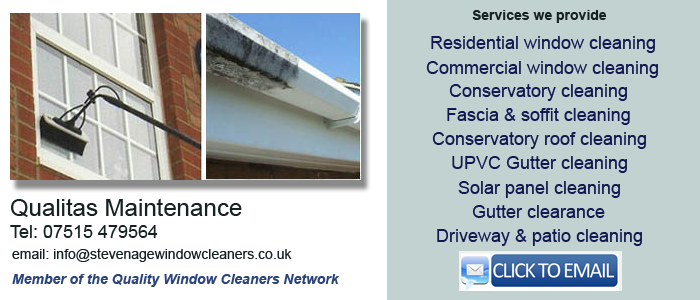 Local window cleaner Stevenage